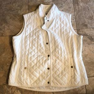 Liz Claiborne insulated, thin vest